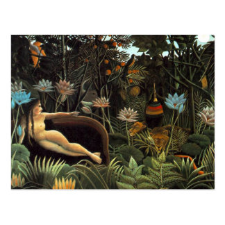 Henri Rousseau - der Traum Postkarte