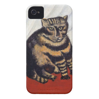 Henri Rousseau - die Tiger-Katze (Le Chat Tigre) iPhone 4 Cover
