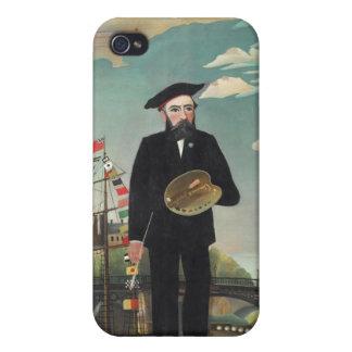 Henri Rousseau-Malen iPhone 4 Cover