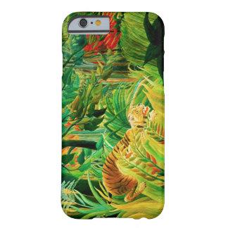 Henri Rousseau-Tiger in einem tropischen Sturm Barely There iPhone 6 Hülle