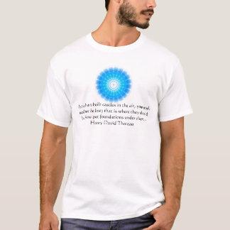 Henry David Thoreau-Freundschafts-Zitat T-Shirt