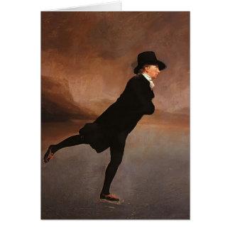 Henry Raeburn- der Skaten-Minister Karte