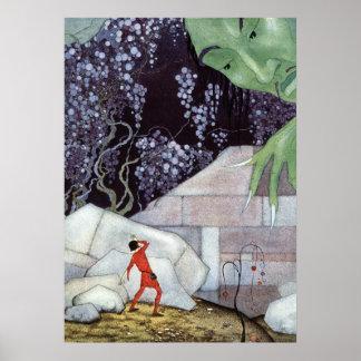 Henry und der Riese durch Virginia Frances Poster