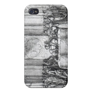 Henry VIII in seiner geheimen Kammer iPhone 4/4S Cover