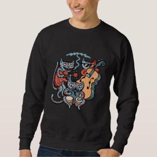 Hep Katzen-Band Sweatshirt