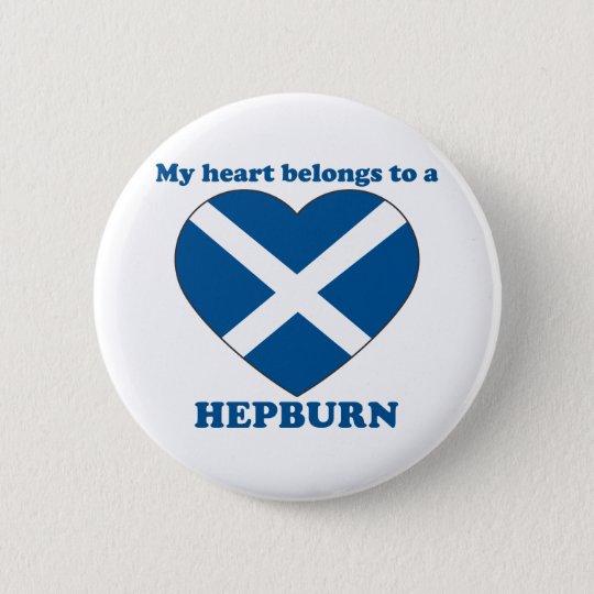 Hepburn Runder Button 5,1 Cm