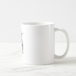 Hepplewhite Stuhl - Aquarell Kaffeetasse