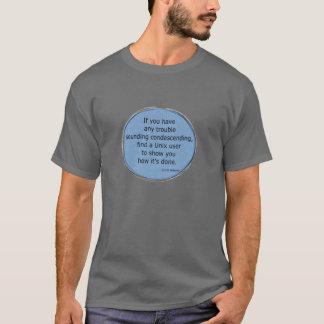 Herablassendes Unix - Scott Adams T-Shirt