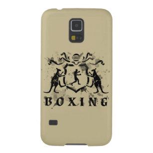 Heraldischer boxender Kasten Samsung-Galaxie-S5 Samsung S5 Hülle