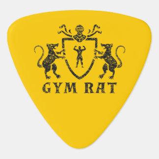 Heraldisches Turnhallen-Ratten-Plektrum Gitarren-Pick