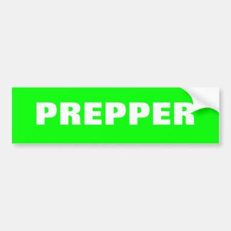 Heraus Prepping Prepper StoßStciker SHTF Wanze Autoaufkleber