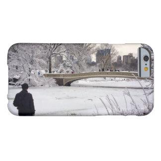 Heraus schauen über einem gefrorenen Teich Barely There iPhone 6 Hülle