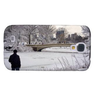 Heraus schauen über einem gefrorenen Teich Galaxy S4 Hülle