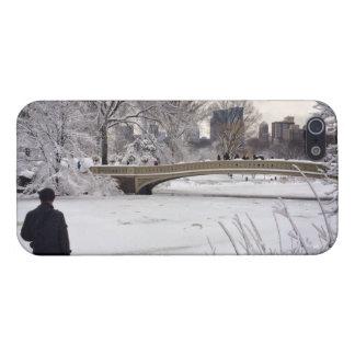 Heraus schauen über einem gefrorenen Teich iPhone 5 Schutzhülle