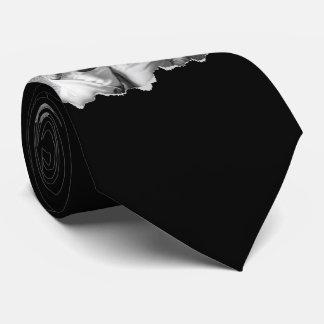 Heraus zerrissen zwei Familien-Fotos Personalisierte Krawatte