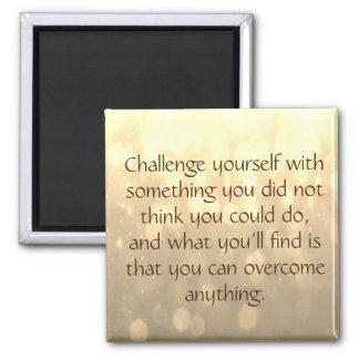 Herausforderung sich quadratischer magnet