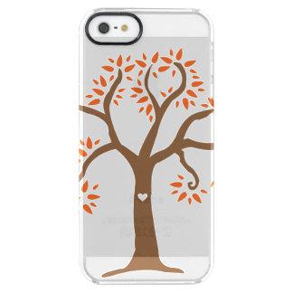 Herbst-Baum iPhone Fall Durchsichtige iPhone SE/5/5s Hülle
