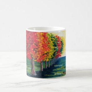 """""""Herbst-Bäume 1"""" Tasse"""