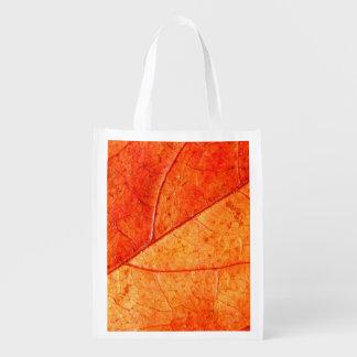 Herbst-Blatt-wiederverwendbare Tasche Wiederverwendbare Einkaufstasche