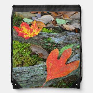 Herbst-Blätter Sportbeutel