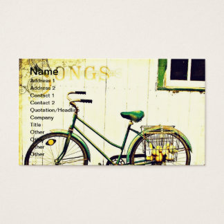 Herbst-Fahrrad-Lieder Visitenkarte
