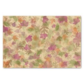 Herbst-Fall Blätter in der Farbe Seidenpapier