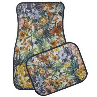 Herbst färbt Blumenauto-und LKW-Matten Autofußmatte