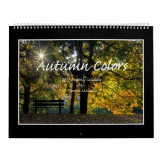 Herbst färbt Kalender 2017 durch Thomas Minutolo