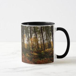 Herbst-Farne Tasse