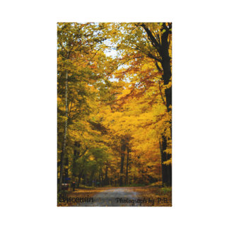 Herbst-Fotografien Leinwanddruck
