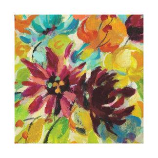 Herbst-Freude-Blumen Leinwanddruck