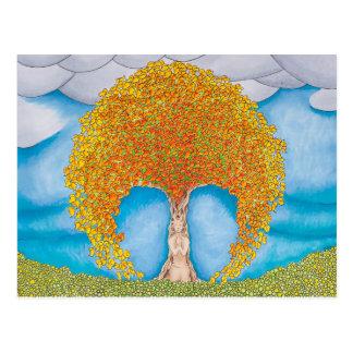 Herbst-Gebet Postkarte
