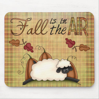 Herbst-Herbstkollektion-Spaß-Schafe Mousepad