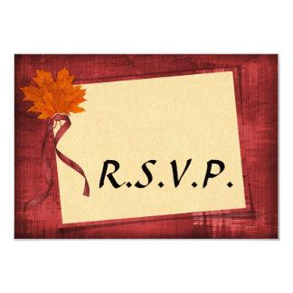 Herbst-Hochzeit UAWG Karte