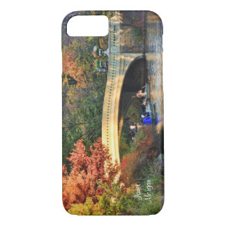 Herbst im Central Park: Kreissägen durch iPhone 8/7 Hülle