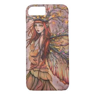 Herbst-Königin-feenhafte Fantasie-Kunst durch iPhone 7 Hülle