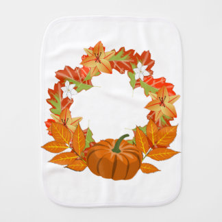 Herbst-Kranz Spucktuch
