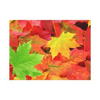 Herbst Leinwanddruck