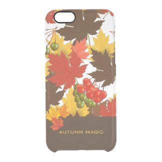 Herbst-Magie Durchsichtige iPhone 6/6S Hülle