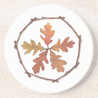 Herbst Pentagram Getränkeuntersetzer