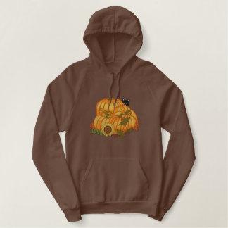 Herbst-Prämie Bestickter Hoodie