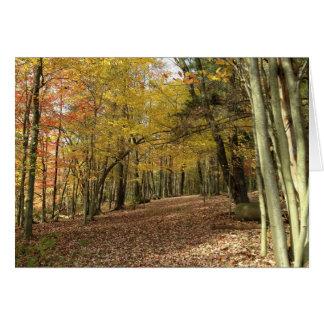Herbst-Segen-Ernte-Gruß-Karte Grußkarte