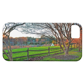 Herbst-Sonnenuntergang durch Shirley Taylor iPhone 5 Hüllen