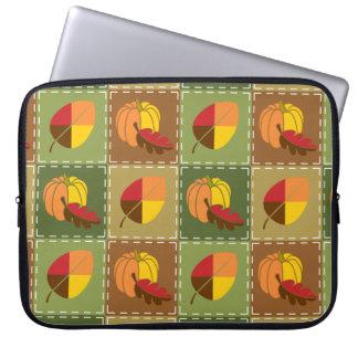 Herbst-Steppdecken-Laptop-Hülse Laptop Sleeve