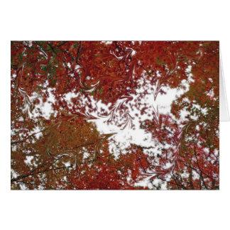 Herbst-Süßigkeit Notecards Karte