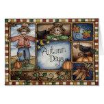 Herbst-Tage - Gruß-Karte