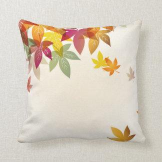 Herbst verlässt Kissen