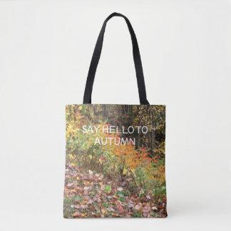 Herbstfarben auf Taschentasche Tasche