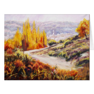 Herbstfarben Karte
