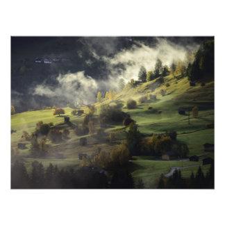 Herbstlandschaft Fotodruck